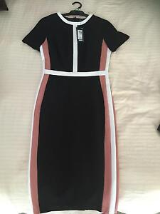 Beautiful M&S Block Colour Bodycon Dress Size 8 Double Bay Eastern Suburbs Preview
