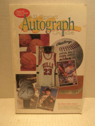 All Sport Autograph Guide by Mark Allen Baker Sports Collectors Digest Book