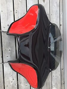 Batwing fairing with built in stereo & speakers