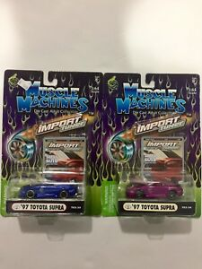 Muscle Machines Import Tuner Toyota Supra Lot (2)