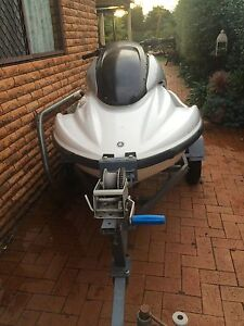HULL OF YAMAHA JETSKI - WITH TRAILER (REGISTERED) Wattle Grove Liverpool Area Preview