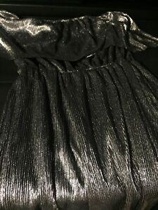 Silver sparkle one piece jumpsuit- $10!!