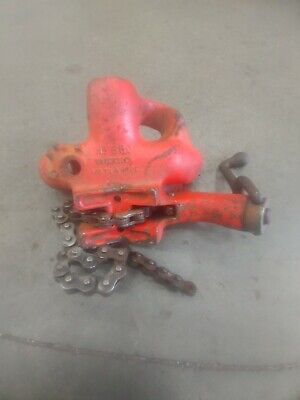 Ridgid Model No.560 Top Screw Stand Chain Vise 18 To 5 Pipe Cap. Made In Usa