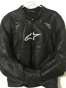 Alpine-Stars motorcycle jacket (High Quality Leather)