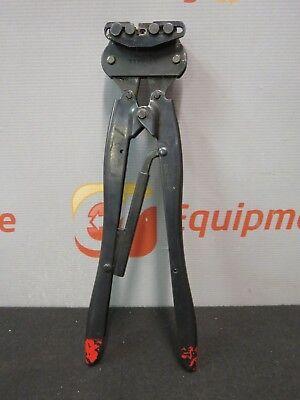 Amp Type Ob 45639-2 Tyco Hand Crimper Crimping Tool Ratchet Coaxicon