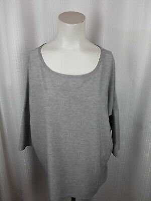 Kimchi Blue Women`s 3/4 Sleeved Scoop Neck Glitter Shirt Size Medium Glitter Scoop Neck Top