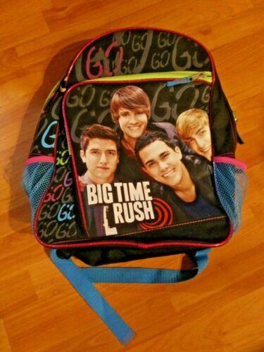 Rare Big Time Rush Backpack, NWT, Nickelodeon, Viacom, TV
