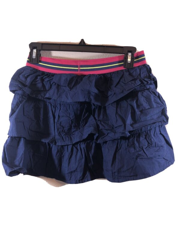Faded Glory Girls Ruffled Skirt Size XL(14-16) Navy