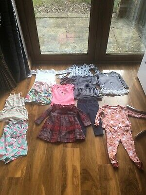 Baby girl clothes bundle 12-18 months 12 items