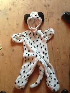 Dalmatian dog costume for child. Like new, used once. Size 2-4T