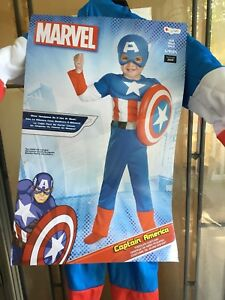 Captain America Halloween costume size 2 t (todder).