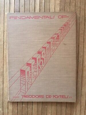 Fundamentals of Perspective by Theodore De Postels AIA, Architecture book