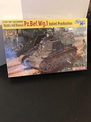 DRAGON SMART KIT 1/35 SCALE Pz. Bef. Wg.1 INITIAL PRODUCTION TANK MODEL KIT Initial Production Tank
