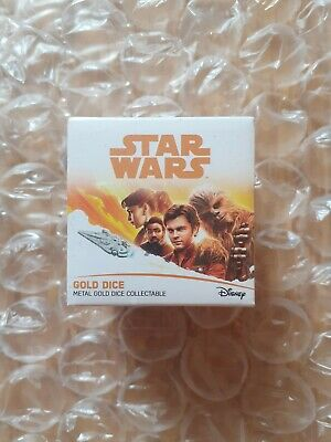 Star Wars Official Han Solo Metal Dice
