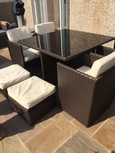 Garden Furniture - RATTAN GARDEN FURNITURE SET