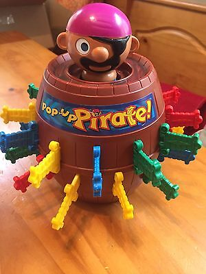 Vintage 1970s Tomy Pop Up Pirate Skill game Family Fun