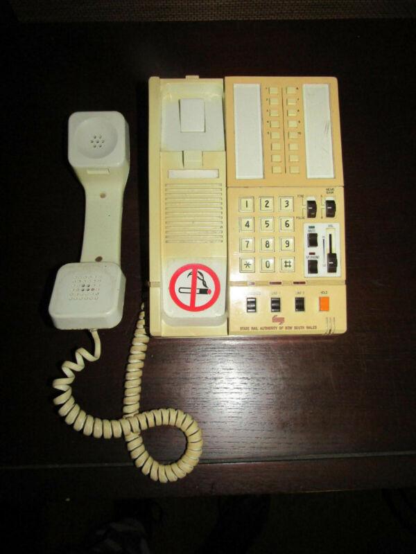 Telecom Australia Sensorphone - from State Rail Authority of NSW - c.1980
