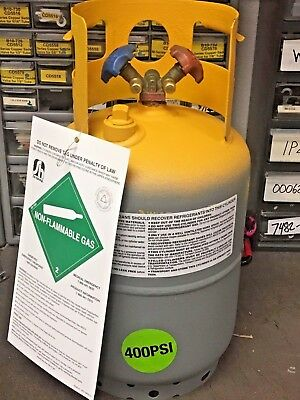 Refrigerant Recovery Tank 30 Lb. New Retest 062022 Good For R410a