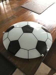 GREAT CONDITION Soccerball Light Fixture