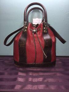 Valentina Leather Bucket Bag
