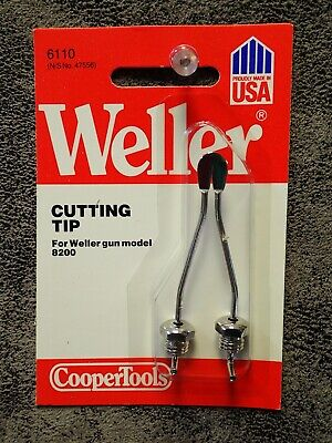 6110 Weller Soldering Cutting Tip For Weller Gun Models 8100 8200 D440