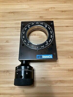 Ardel Kinematic 2 Optics Rotation Stage With Large Adjuster Knob