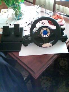 MULTIPURPOSE NITHO DRIVE PRO 16 STEERING WHEEL & PEDALS Sylvania Sutherland Area Preview