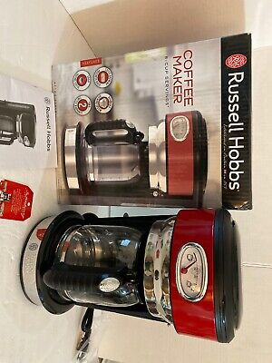 Russell Hobbs CM3100RDR Retro Style Coffeemaker 8-Cup Red for sale  Shipping to South Africa