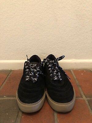 HUF Men's Galaxy Black Dark Gum Sneakers US6.5/UK5.5 ()