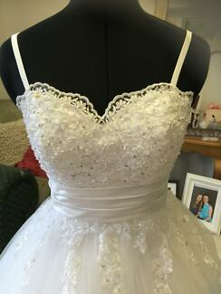 Deb ,Debutante, Wedding White /Ivory Dress