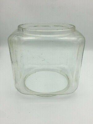 Original Antique Vintage 6 lb Glass Globe for Oak Acorn Gumball Vending Machine