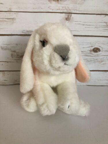 Animal Alley Bunny Rabbit Plush Lop Ears White Bean Bag Toys R Us Stuffed Toy