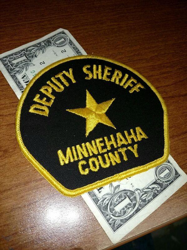 Minnehaha County South Dakota Deputy Sheriff Patch New Old Stock