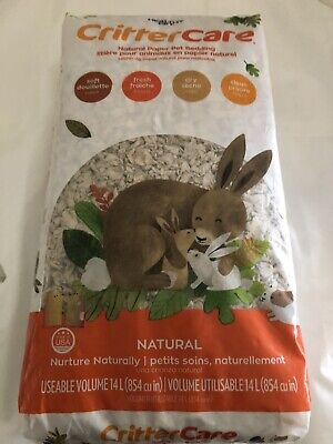 Healthy Pet Critter Care Natural Paper Pet Bedding Made in the USA Soft Fresh Dr