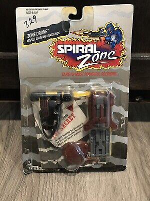 1987 Tonka Spiral Zone Accessory Pack Zone Drone Backpack New