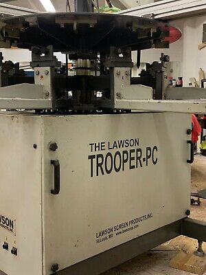 Lawson Trooper Pc Automatic Screen Printing Press
