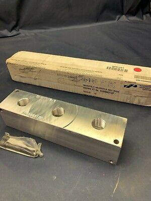 Daman Aluminum Hydraulic Manifold - 1210 - Ah0000312p - New