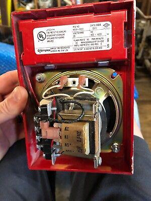 Simplex 4903-9303 Fire Alarm Speaker Strobe