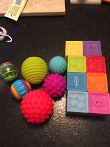 Blocks and balls