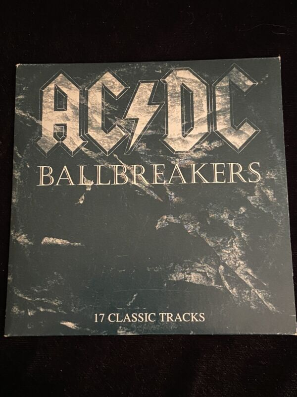 AC/DC BALLBREAKERS (17 Classic Tracks) EXTREMELY RARE PROMO COMPILATION CD 1995