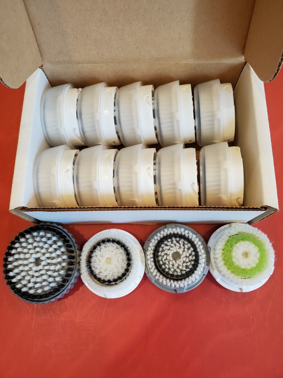 AUTHENTIC! CLARISONIC BRUSH HEADS - 10PK - 4 TYPES TO CHOOSE   $49.99-59.99