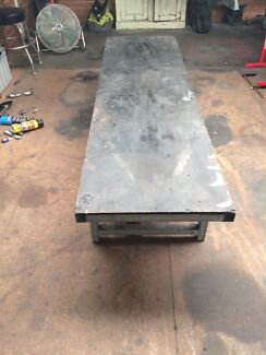 Motorcycle work bench