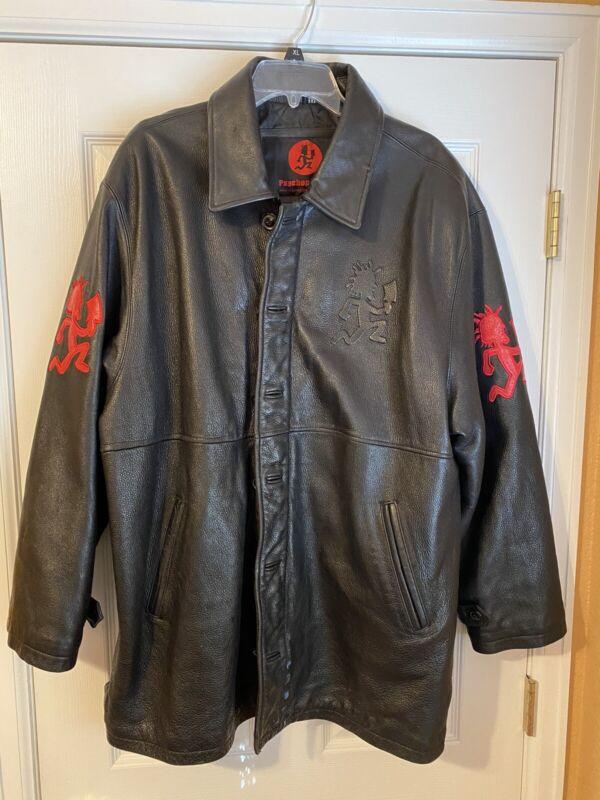 Psychopathic Records Leather Jacket  XL  ICP Twiztid ABK Blaze