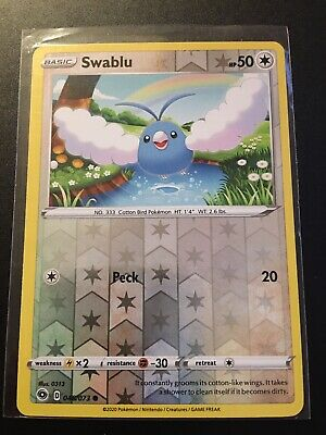 Swablu Reverse Holo Champions Path 48/73 Pack Fresh NM/Mint