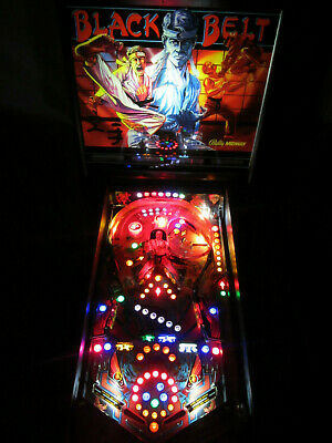 BLACK BELT Complete LED Lighting Kit custom SUPER BRIGHT PINBALL LED KIT
