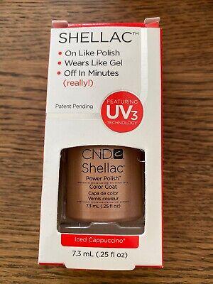 CND SHELLAC UV Nail Polish Iced Cappuccino - 7.3ml
