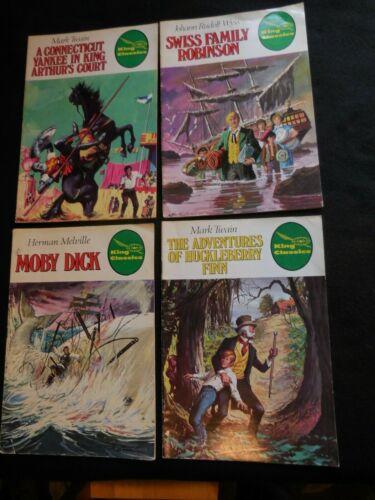 4 King Classics Comics Moby Dick Swiss Family Arthur