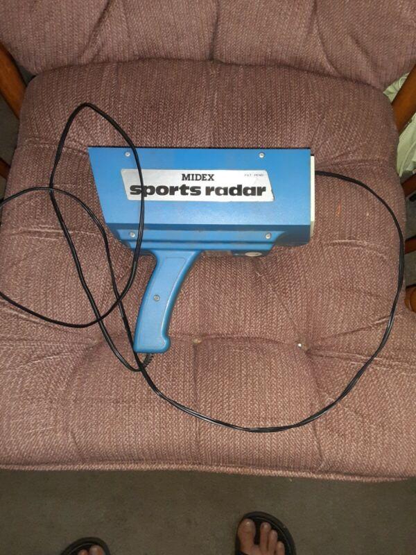 Vintage Midex Sports Radar Gun Model 8100