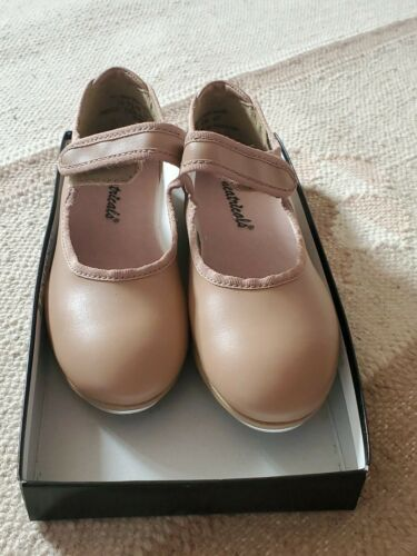 Theatrical tap shoes girls- size 10.5 M
