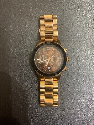 Michael Kors Rose Gold Stainless Steel Watch MK8247